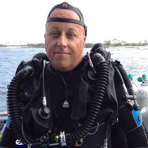 Eric McClure, PADI Course Director
