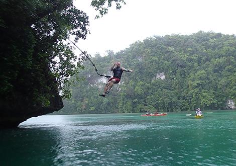 Palau Spring Break