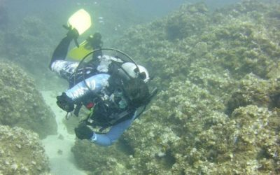 Shore Diving in Umatac, Guam