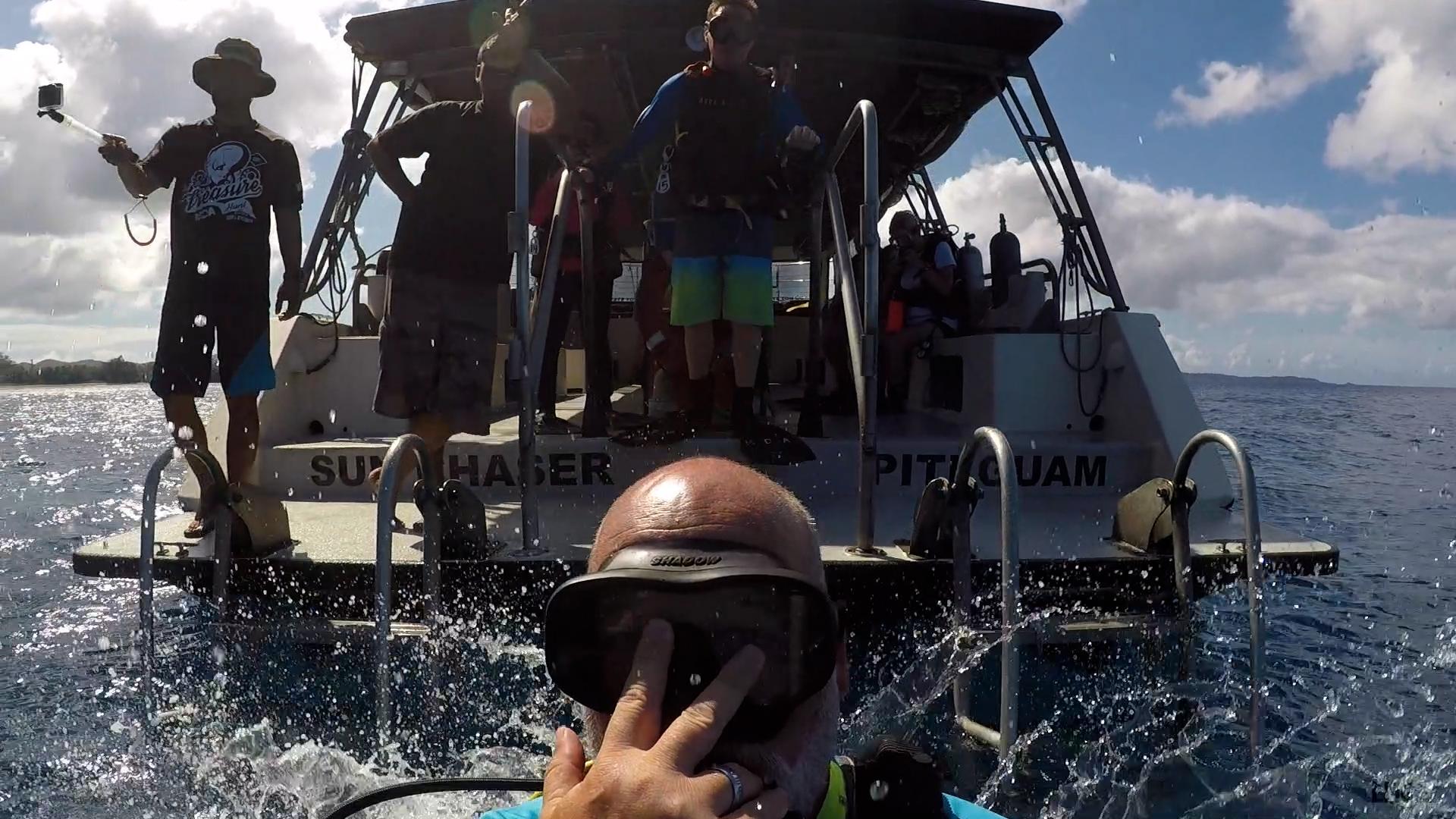 Selfie with Boat Crew
